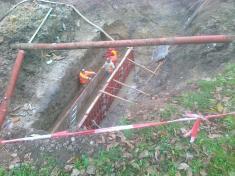 Opravy potoka