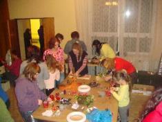 Babinec - aranžování 2009 advent